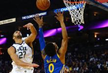 Jazz Easily Crush Warriors Missing Four All-Stars