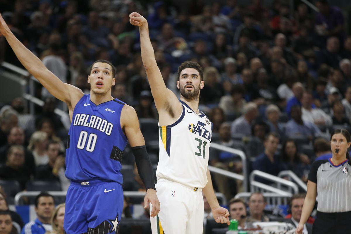 The Utah Jazz shot their way past the Orlando Magic 109-96   Salt City Hoops