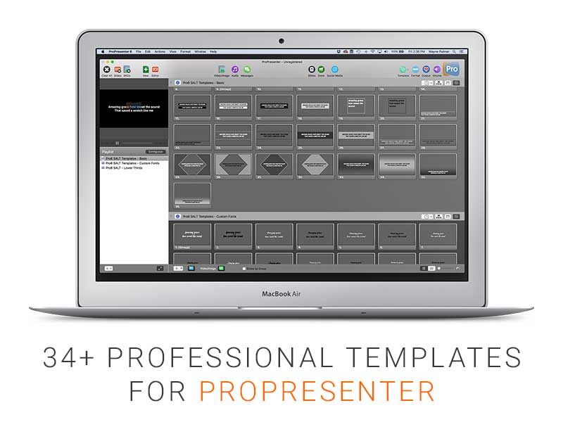 Pro6 Templates - Free Bundle