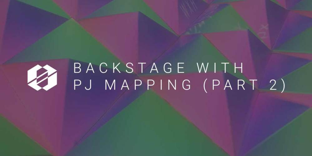 Projection Mapping - SALT Backstage part 2