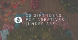 25 Christmas Gift Ideas for Creatives ($35 or less)