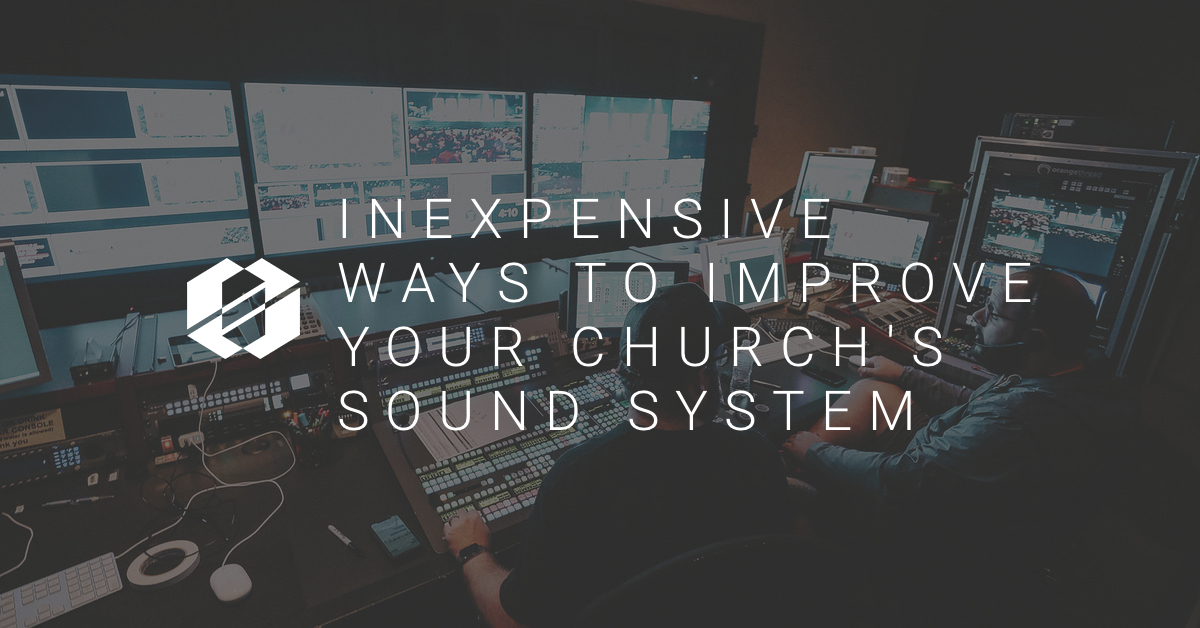 inexpensive ways to improve sound system