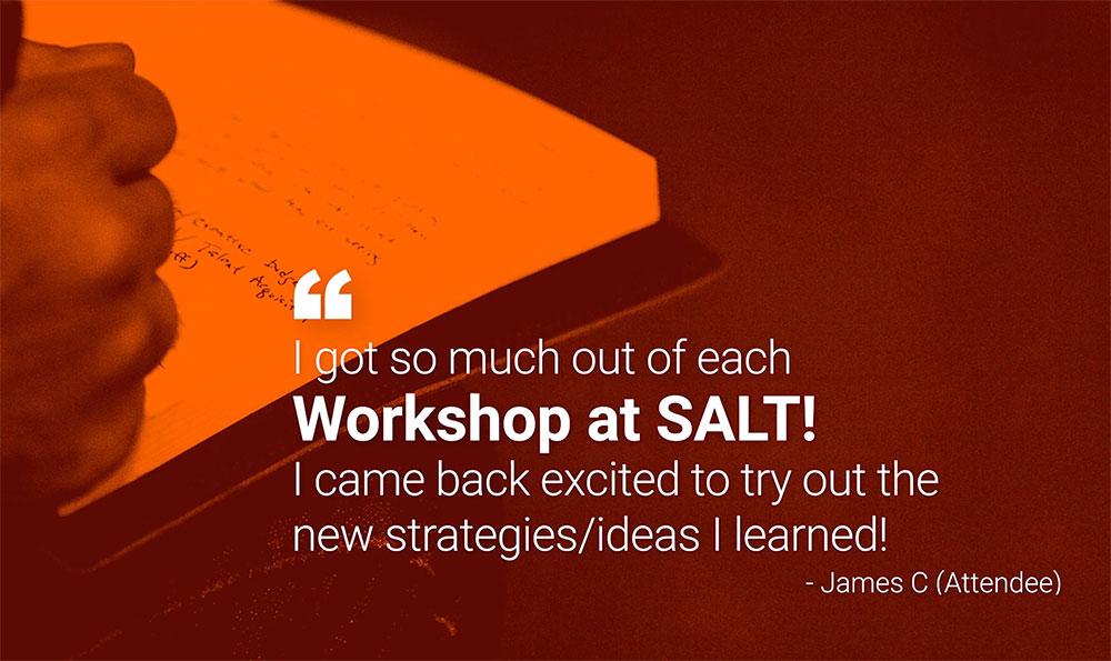 SALT University - Workshop Quote