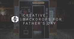 Creative Backdrops for Father's Day Photo Booth