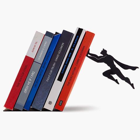 superhero bookshelf holder - Christmas ideas from SALT Community