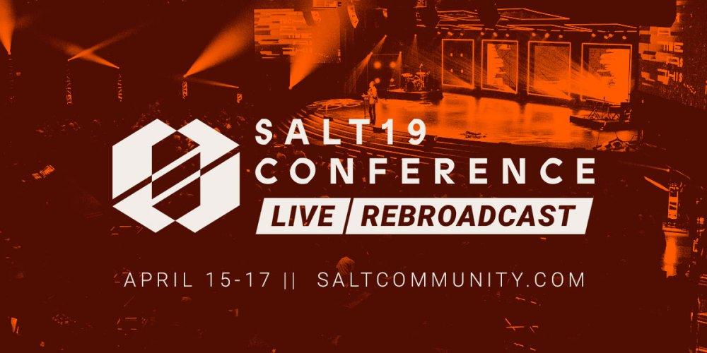 Free Online Event - SALT19 Rebroadcast