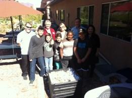 Salt Creek students explaining our composting program.