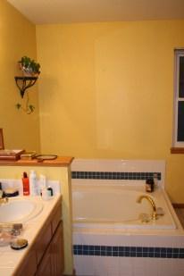 Large unused jacuzzi tub