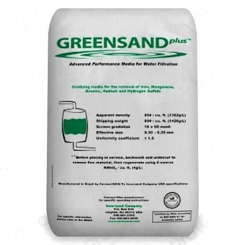 Manganese Greensand Plus Обезжелезивание и осветление