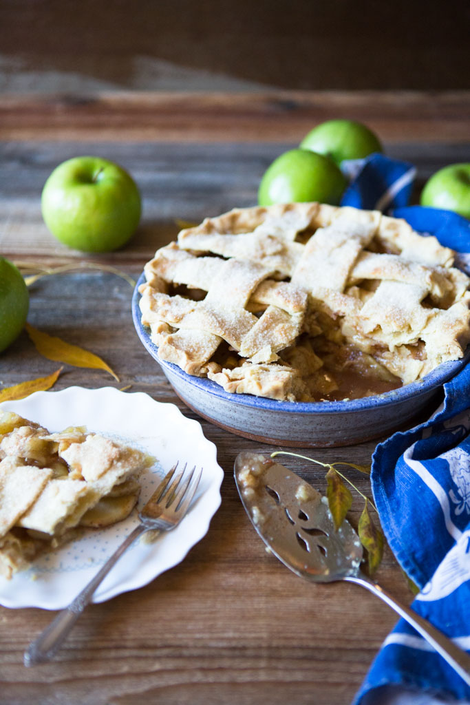 My Favorite Apple Pie Recipe is the perfect combination of deliciously tart apples with a most delightful flaky crust.