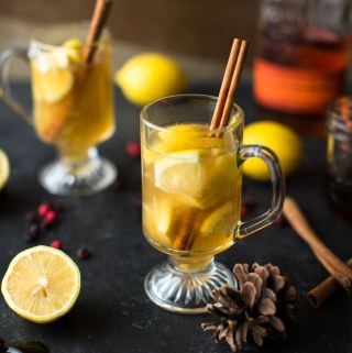 Muddled Maple Hot Toddy