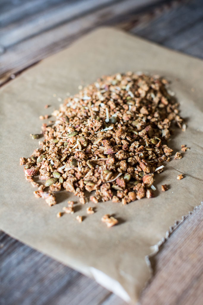 I never thought grain-free granola could taste this good and be so perfectly crunchy and delicious.