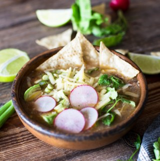 Easiest Slow Cooker Chicken Tortilla Soup