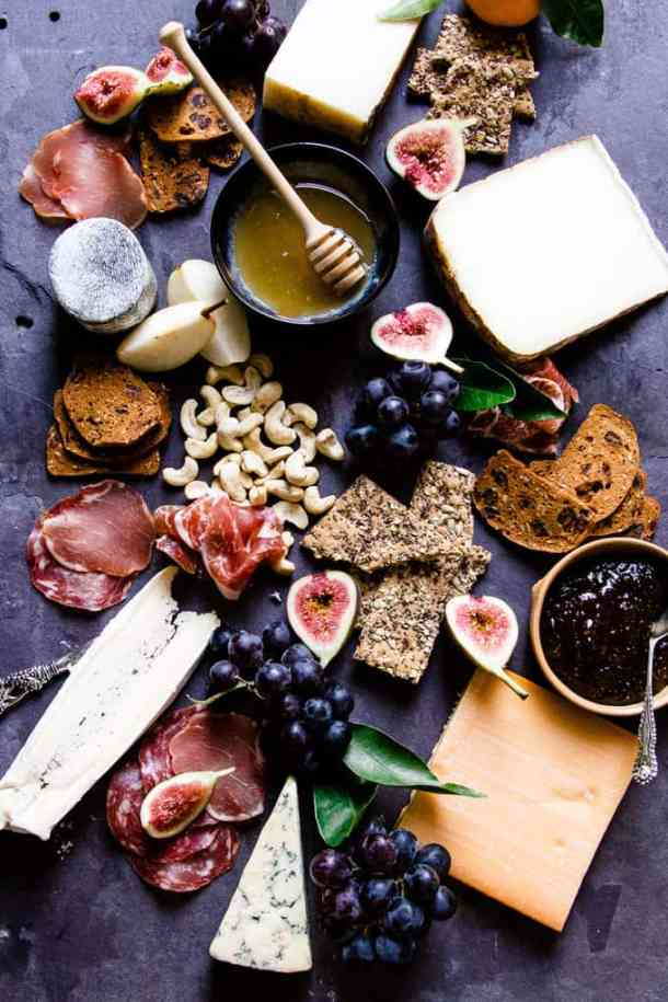 How to make the perfect holiday cheese board for serving guests and family with effortless style.