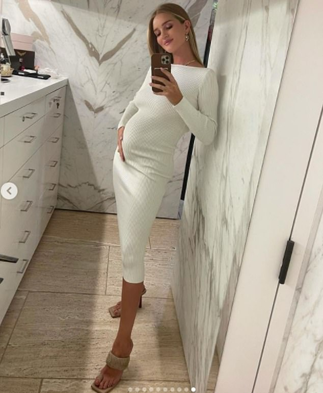 Rosie Huntington-Whiteley is pregnant with second child - Latest Celebrity  News