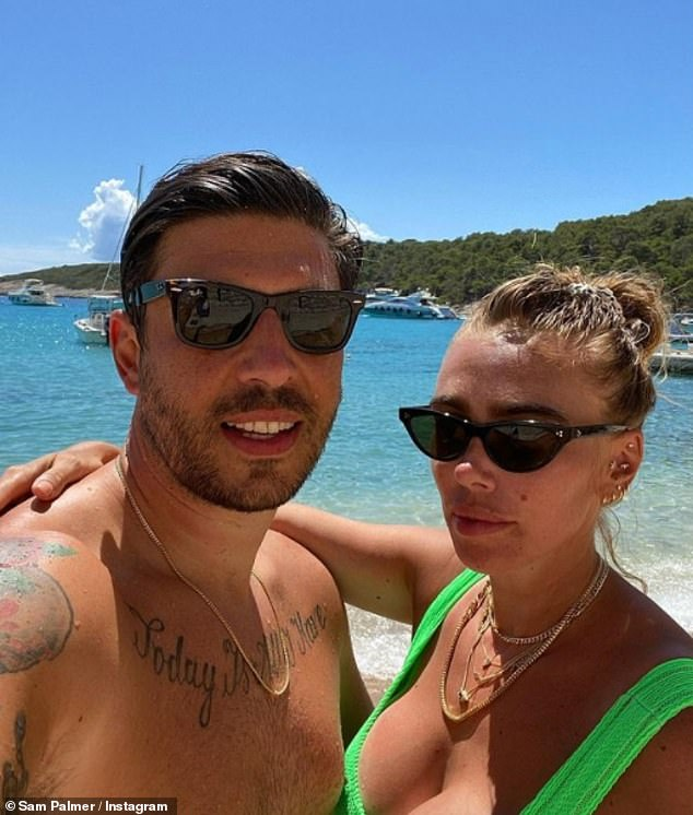 Hitting back:Tamara's 'Illness-phobic' billionaire sister Petra has also previously defended travelling to seven countries in lockdown to 'escape coronavirus' (pictured in Croatia last year)