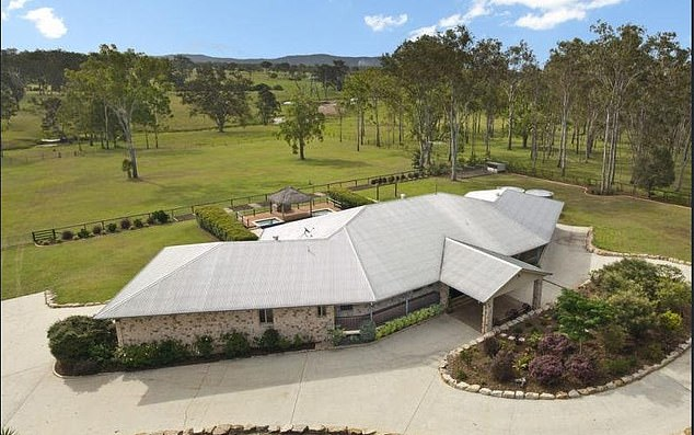 Andrew Alasdair Ryan and Leonard used their ill-gotten gains to fund a lavish lifestyle - including living in a five bedroom ranch in Tamborine, in Queensland's Scenic Rim region
