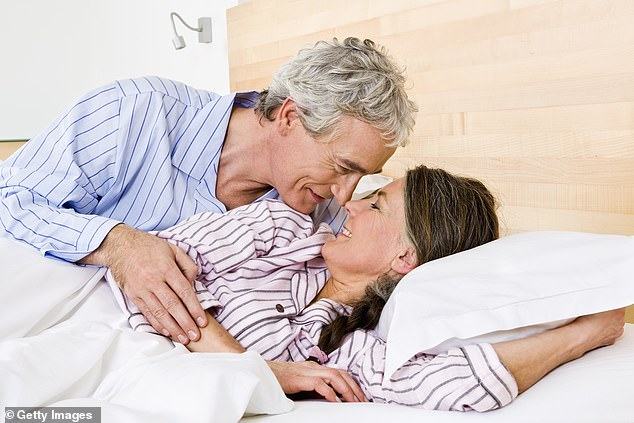 Tracey Cox answers 10 most common sex questions in long-term relationships, including whether you have to give oral sex and whether it's wrong to fantasise about someone else while having sex with your partner (stock image)