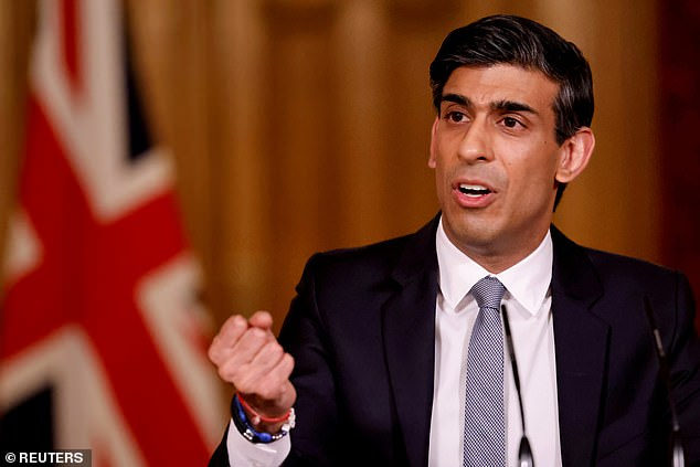 In his March budget Chancellor Rishi Sunak (pictured) announced a state-backed mortgage scheme to encourage lenders to offer 95 per cent loans
