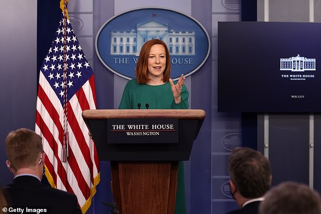 White House press secretary Jen Psaki insisted Tuesday that the U.S. government would not be putting in place a federal vaccine passport system after Republicans lined up against the concept