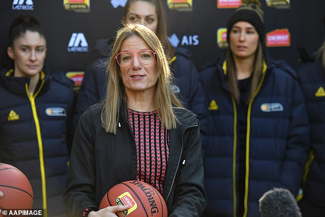 Rechter (pictured) spent just over two years in the job but, before a potentially historic Olympic campaign in July for the Boomers and Opals, gave two days' notice as she made her April 1 exit