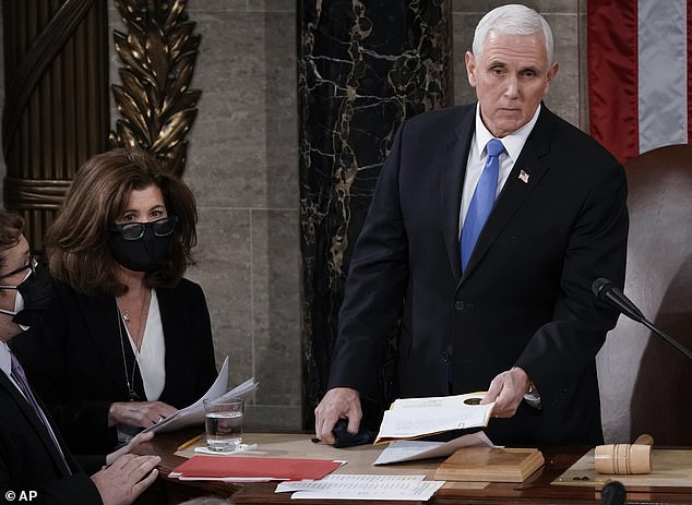 Former Vice President Mike Pence has formed a new group to tout the Trump-Pence agenda. He is considered a candidate for president in 2024. Trump raged at him in leading up to the electoral count, and blasted him in a Jan. 6th tweet