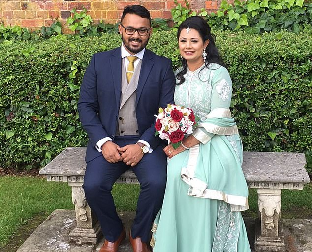 The married financial services worker from Poplar, east London, is now recovering at home and will have to take blood thinners for at least the next six months