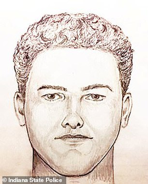 Police released the composite sketch above early in the investigation