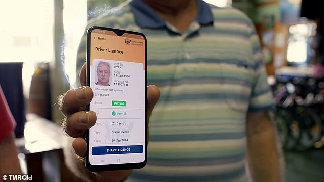 The wallet could end up as a fashion accessory in Queensland with the state considering a move to digital driver's licenses