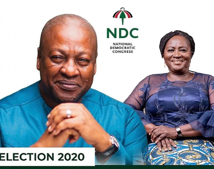 Live: Mahama officially outdoors Jane Naana Opoku-Agyemang as his running  mate | saltfmonline.com