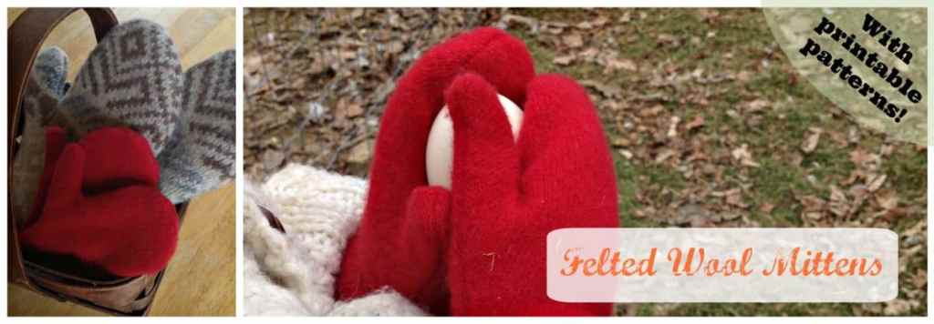 printable pattern for sweater mittens