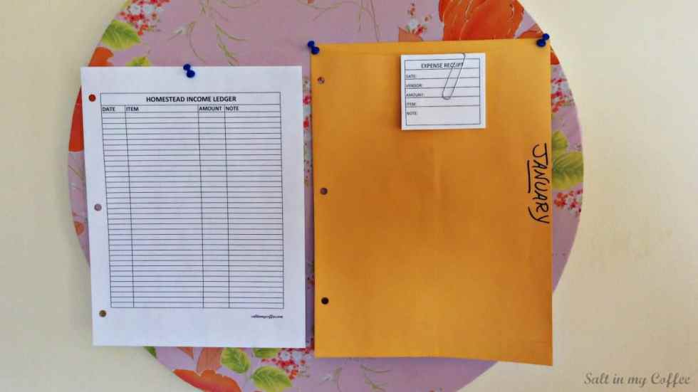 Income organizer 1