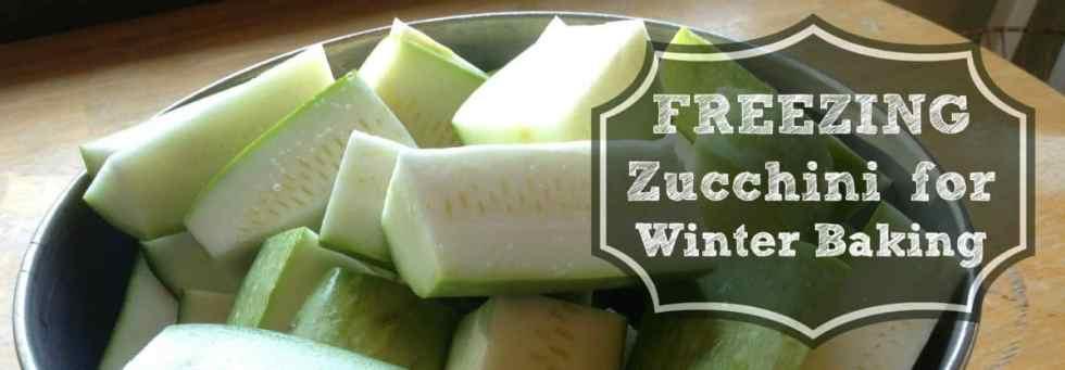 freezing zucchini for baking