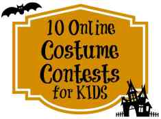 online costume contests for kids