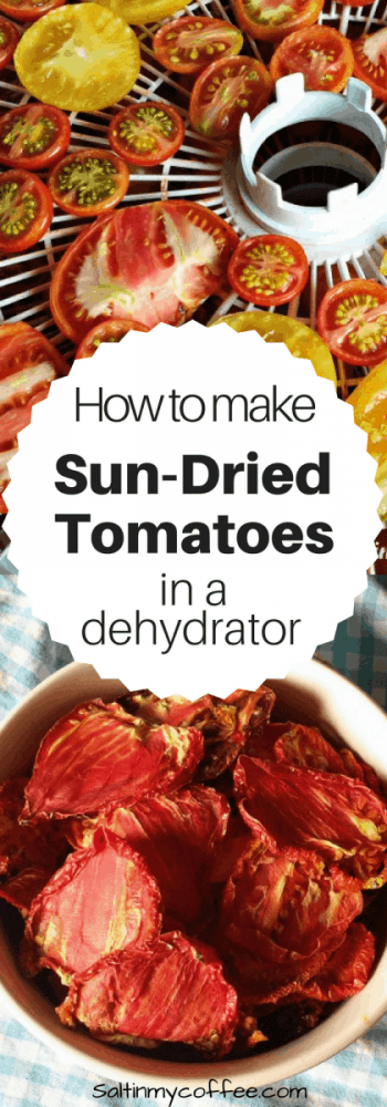 how to make sun-dried tomatoes in a dehydrator