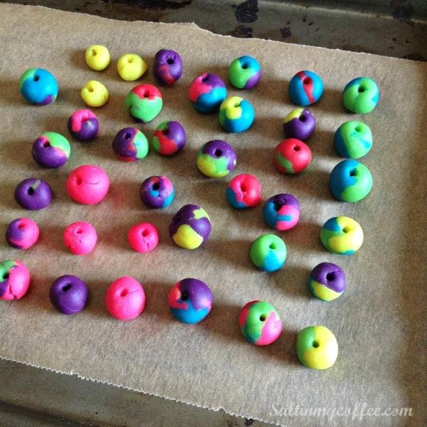 play dough beads