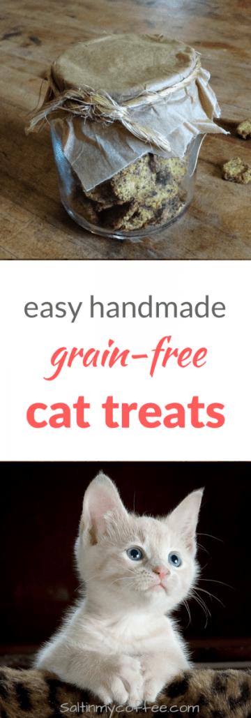 grain free cat treats recipe