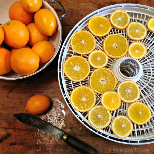 how to dry lemons for garlands