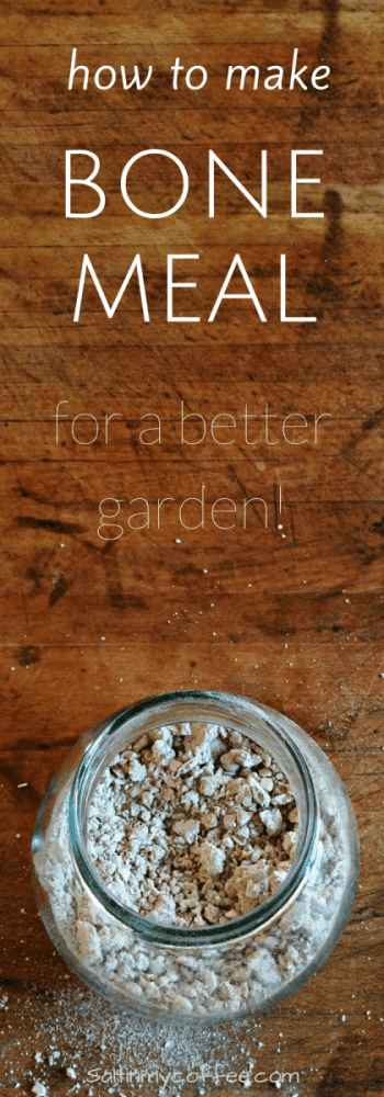 how to make bone meal for gardens