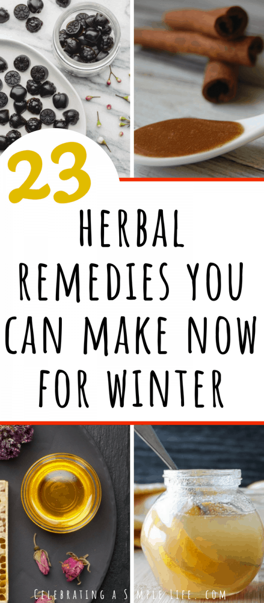 So many great recipes for herbal remedies you can make at home, to be prepared for cold and flu season!