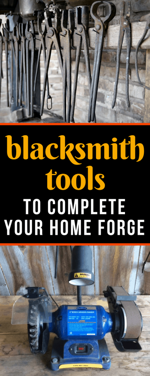 blacksmith tools to complete your home forge