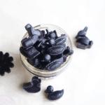 diy probiotic blackberry gummies