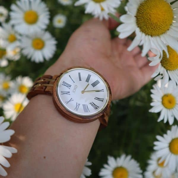 wooden watches for the minimalist mom