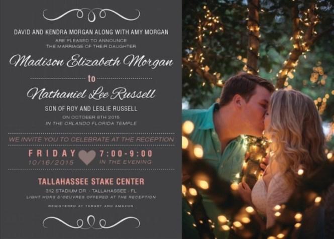 Utah Wedding Invitations Announcements Salt Lake Bride
