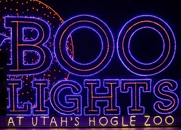 Utah Hogle Zoo Lights