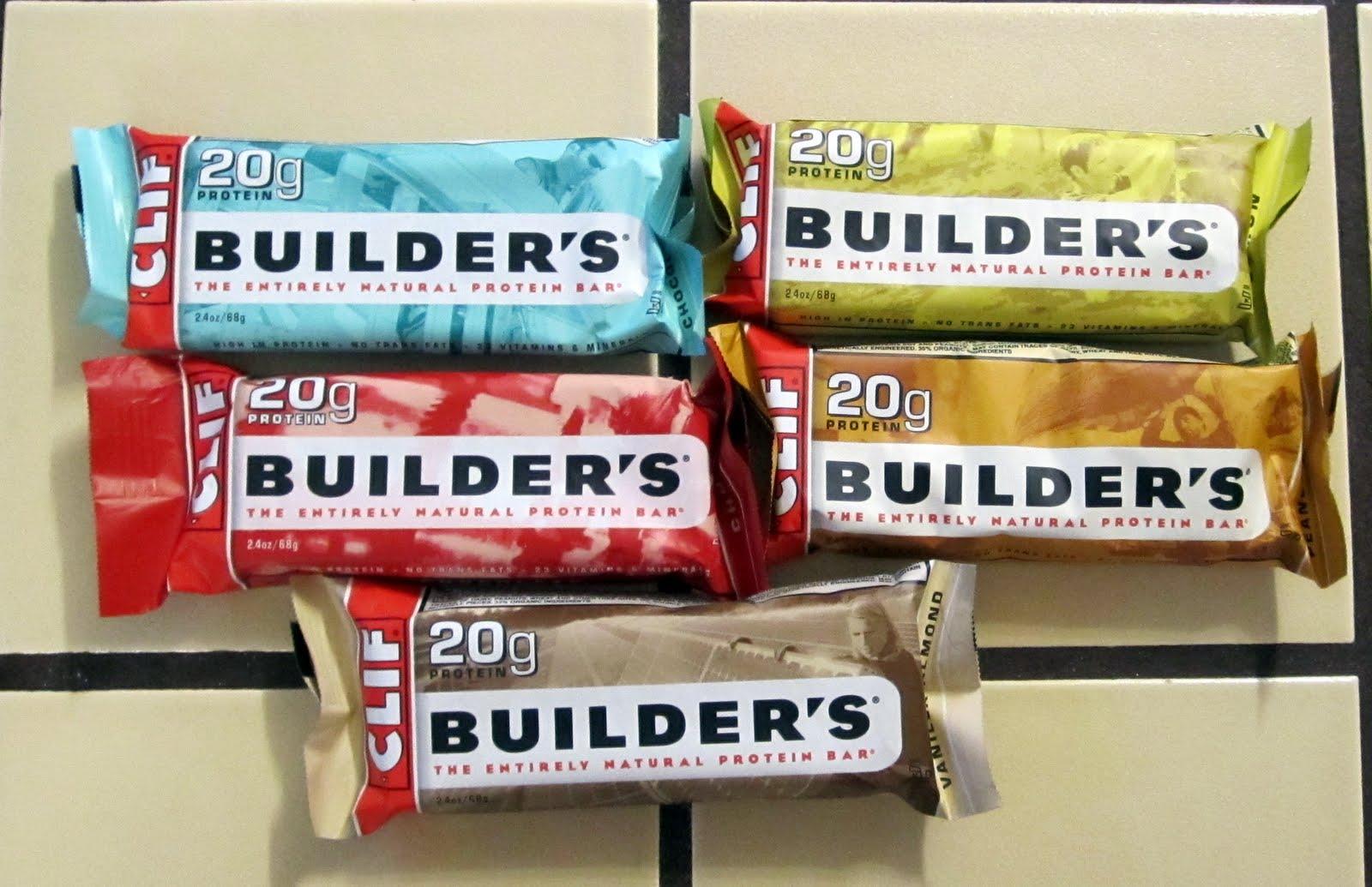 Clif Builder Protein Bar Label