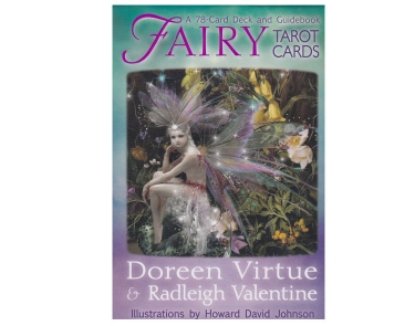 Fairy Tarot Card DECK By Doreen Virtue and Radleigh Valentine - Saltlamps ie