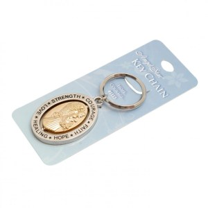 AngelStar Spinner Keyring - Hope & Courage