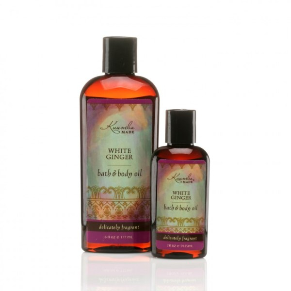 Kuumba Made White Ginger Organic Bath & Body Oil