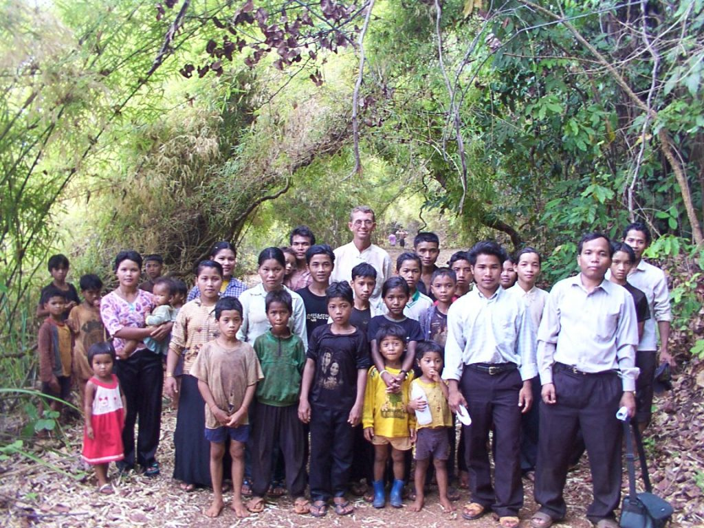 First Tampuon People Baptism